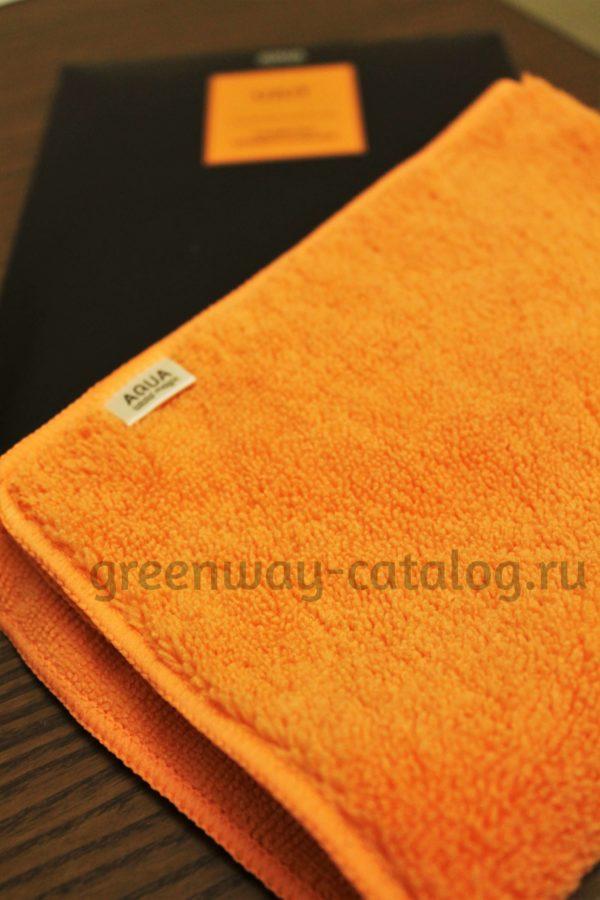 универсальная салфетка Аква Мэджик Уют оранжевая